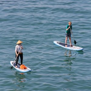 Stand Up Paddleboarding in St.Agnes Cornwall