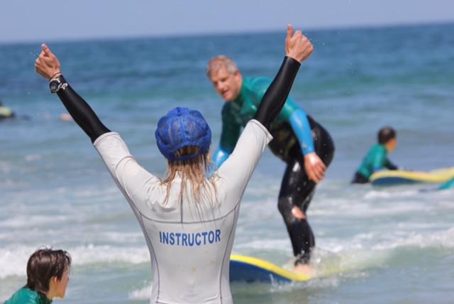 Surf Lesson Success