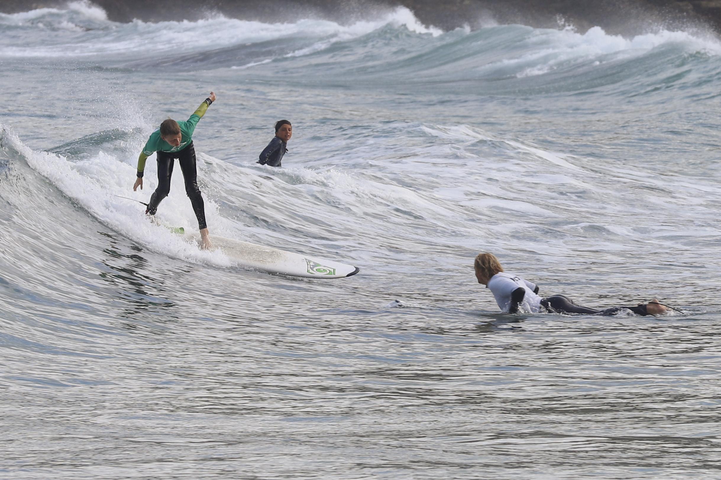 Five Surf Lessons