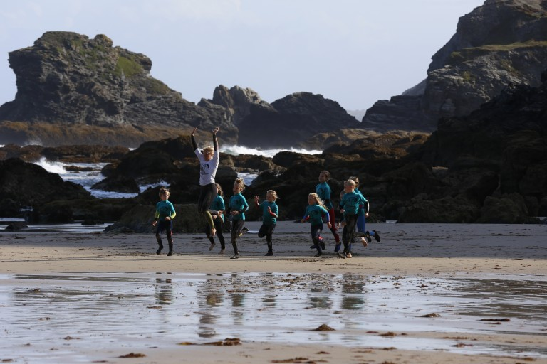 Local kids surf academy
