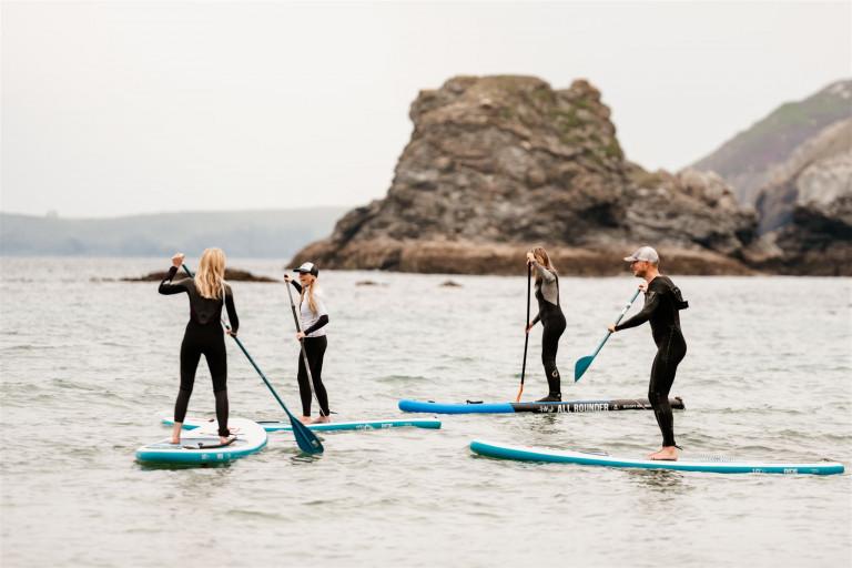 Breakers, Cornwall Surfing